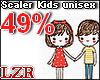 Scaler Kids Unisex 49%