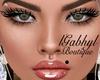 Mel Glitter Makeup Plata