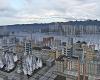 SNOWY LARGE CITY