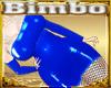 Bimbo Blue Pvc Dress