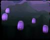 purple sky lantren