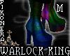 !P^ WARLOCK KINK BOOTS M