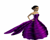 LH FANCy PURPLE GOWN