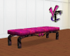 Gothic Pink Bench