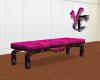 Gothic Pink Bench