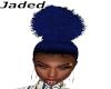 Blu Afro Ponytail