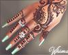 Henna Tats Nails Rings