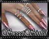 Ss✘Pink- Nails+Rings