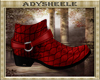 AS* Exotic Red Boots