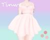 Te Summery Dress Peach