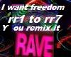 I want freedom mix -Euro