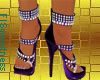 FLS Sandals - Purple Sil