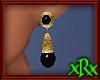 Vintage Onyx Earrings
