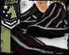 Black/Red Stipes Flats