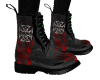 *HH* Black W/Red Flame
