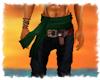 ! Pirate sash green