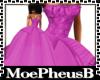Fuschia Bell Gown