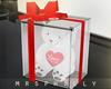 """"""" VDay Gift Bear White"""