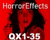 Horror Effects (QX1-35)