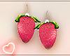 .Cute Stawberry Earring.