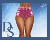 Pink PVC Shorts