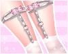 ♡ Pink Maid socks