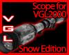 VGL2000 Scope snow