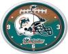 [M] Miami Dolphins Clock