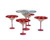 Glass Club Table Set