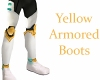 Yellow Armored Boots