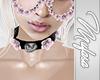 lMl Pink Rose Collar