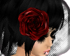 Red Flower Head Band