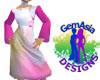 lovely pink dress