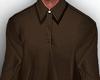 Golf Shirt Long brown