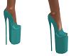Teal Platform Shoes