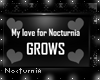 Nocturnia is loved