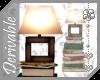 ~AK~ Book Pile Lamp