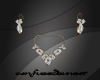 Halo Sapphire Jewel Set