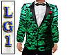 LG1 Green & Blk Tux 2020