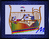 Horse & Rainbow Crib
