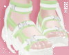 n| Trendy Shoes Lime