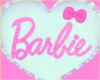 Barbie � cushion mint