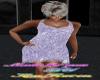 lilac chain dress