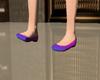 GIRL PINK-BLUE FLATS