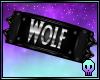 Wolf Armband L / M
