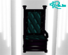 Gothic Teal Throne