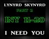 Lynyrd Skynyrd~INeedYou2