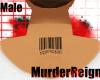 {MR} M Barcode Neck Tat