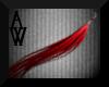 [AW] Red PVC Earrings