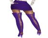 Purple Mini with Boots